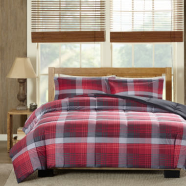 jcpenney.com | Woolrich Terrytown Softspun Down-Alternative Plaid Comforter Set