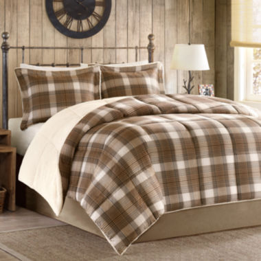 jcpenney.com | Woolrich Lumberjack Plaid Softspun Down-Alternative Comforter Set