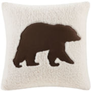 Woolrich Hadley Bear Square Decorative Pillow
