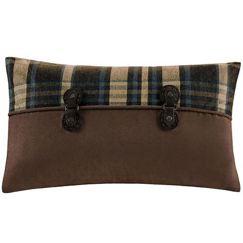 Woolrich Hadley Plaid Pieced Oblong Decorative Pillow
