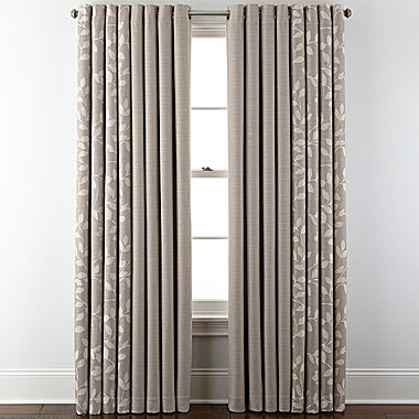JCPenney Home™ Quinn Grommet-Top Window Treatments - JCPenney