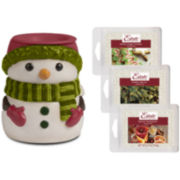 Estate™ Snowman Wax Warmer Gift Set
