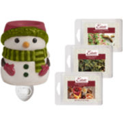 Estate™ Snowman Accent Wax Warmer Gift Set