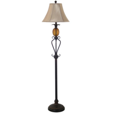 jcpenney.com | JCPenney Home™ Pineapple Floor Lamp