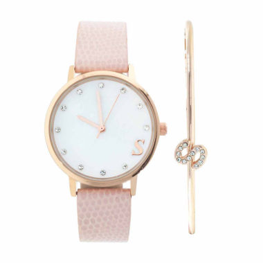 jcpenney.com | Fashion Watches Womens Rose-Tone Watch