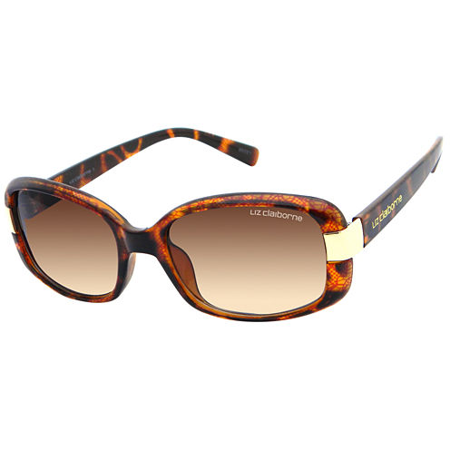 Liz Claiborne Full Frame Rectangular UV Protection Sunglasses
