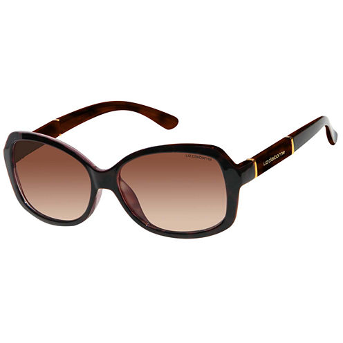 Liz Claiborne Rectangle Rectangular UV Protection Sunglasses