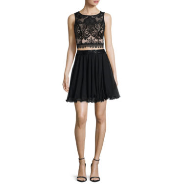 jcpenney.com | Love Reigns Sleeveless Sequin-Top 2-pc. Dress - Juniors