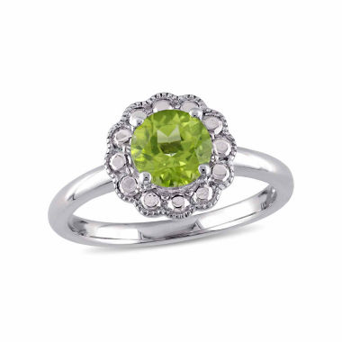 jcpenney.com | Womens Green Peridot 10K Gold Cocktail Ring