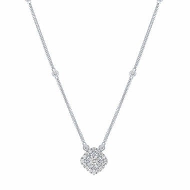 jcpenney.com | Womens 1 CT. T.W. White Diamond 14K Gold Pendant Necklace
