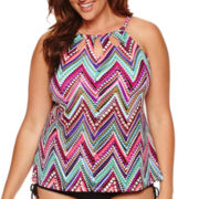 Jamaica Bay® Downtown Vibe Tankini Swim Top
