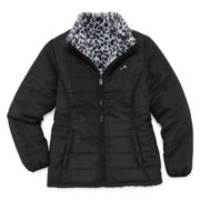 Vertical 9 Girls Puffer Jacket-Big Kid
