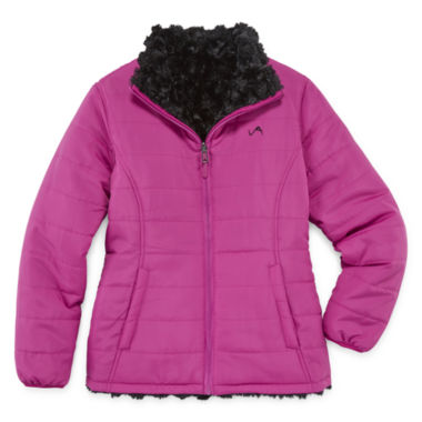 jcpenney.com | Vertical 9 Girls Puffer Jacket-Big Kid