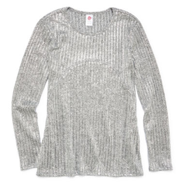 jcpenney.com | Total Girl Long Sleeve Layered Top - Big Kid