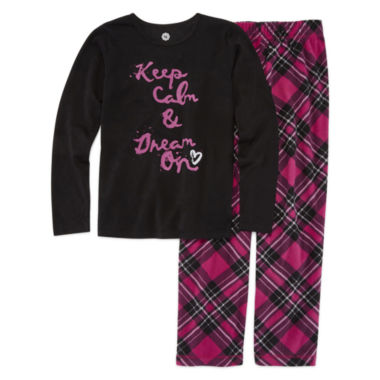jcpenney.com | Total Girl Girls Pant Pajama Set-Big Kid & Plus