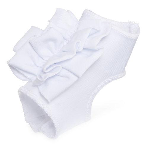 Okie Dokie® Peep-Toe Socks