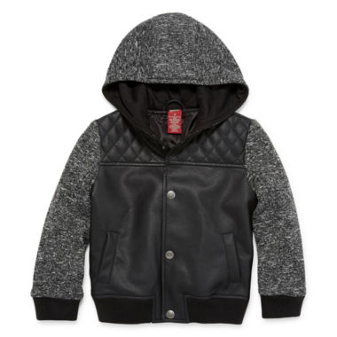 jcpenney.com | Arizona Boys Midweight Motorcycle Jacket-Toddler