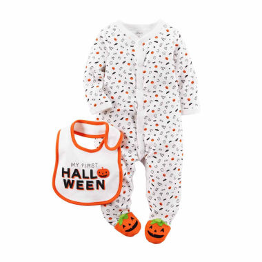jcpenney.com | Carter's® Halloween 2-pc. Bodysuit and Bib Set - Babies newborn-9m