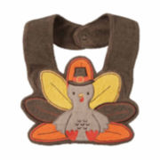 Carter's® Brown Turkey Teething Bib