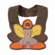 Carter's® Brown Turkey Teething Bib