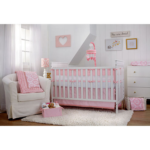 Carter's Hearts of Gold - 4pc Crib Set