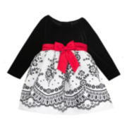 Rare Editions Party Dress - Toddler