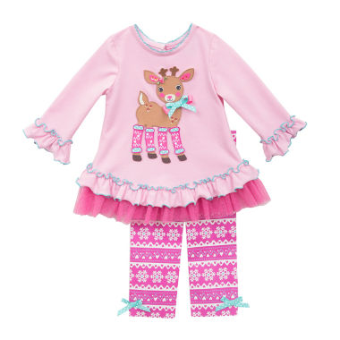 jcpenney.com | Rare Editions Girls Legging Set-Preschool
