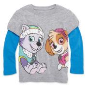 Girls Graphic T-Shirt-Toddler