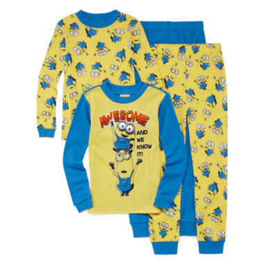 jcpenney.com | 4-pc. Minions Pajama Set- Boys 4-10