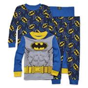 4-pc. Batman Pajama Set- Toddler Boys 2t-4t