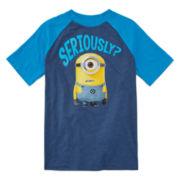 Boys Short Sleeve T-Shirt-Big Kid