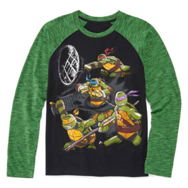 jcpenney.com | Teenage Mutant Ninja Turtle Raglan Tee - Boys 8-20