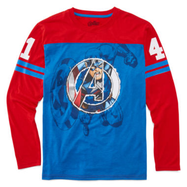 jcpenney.com | Boys Avengers Graphic T-Shirt-Big Kid