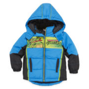 Ninja Turtles Puffer Jacket - Toddler 2T-4T