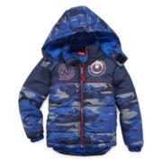 Avengers Puffer Jacket - Preschool 4-7X