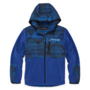 Boys Midweight Fleece Jacket-Big Kid