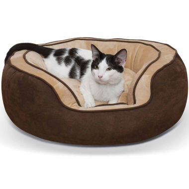 jcpenney.com | K & H Manufacturing Round N' Plush Bolster Pet Bed