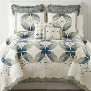 jcpenney.com | Home Expressions Peyton Quilt & Accessories