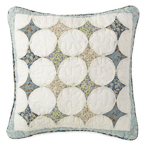 """Home Expressions Peyton 16"""" Square Decorative Pillow"""