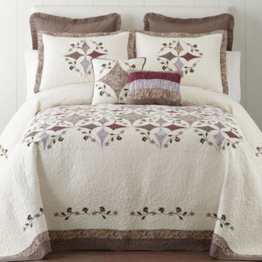 jcpenney.com | Home Expressions Lavender Bedspread & Accessories