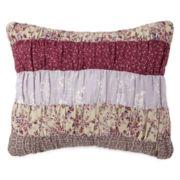 Home Expressions Lavendar Oblong Decorative Pillow
