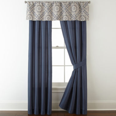 jcpenney.com | Home Expressions Newport 2-pack Curtain Panels