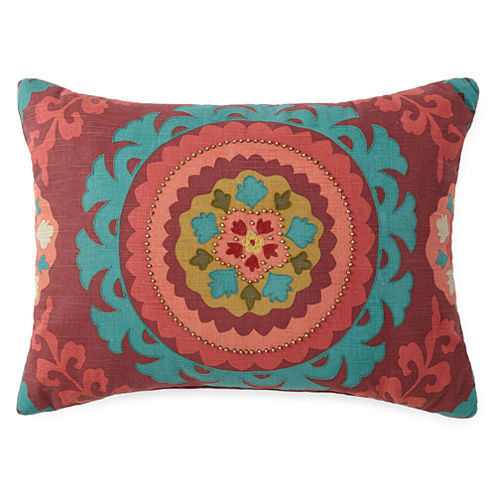 JCPenney Home™ Suzzani Tapestry Decorative Pillow