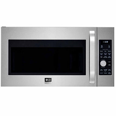 Lg 1 7 cu ft large capacity over the range microwave lsmc3086st jcpenney - Red over the range microwave ...
