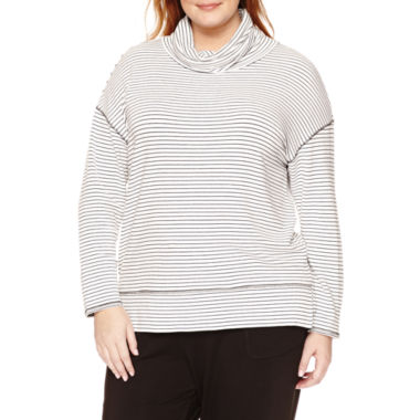jcpenney.com | Liz Claiborne® Long-Sleeve Tunic Top - Plus