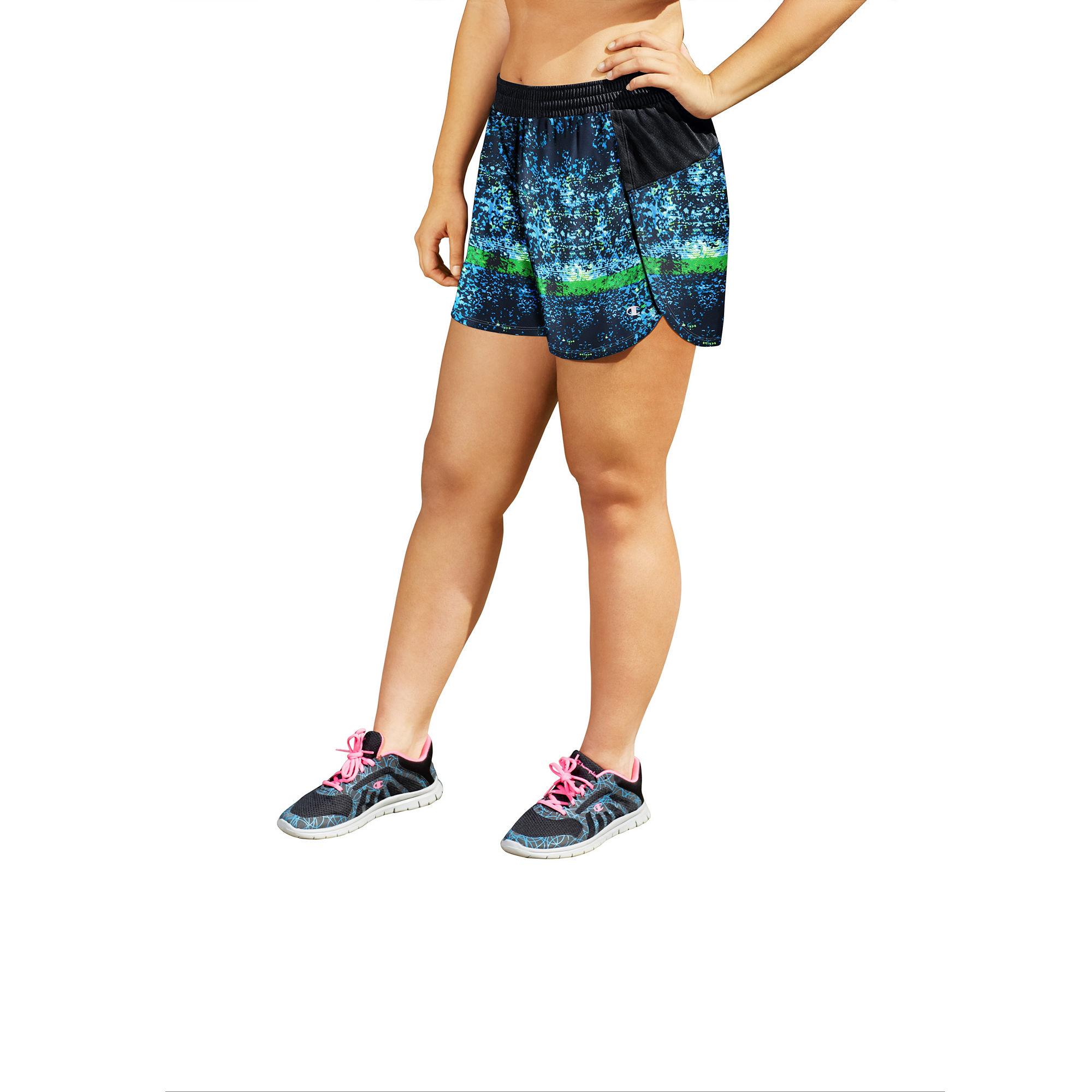 Champion Knit Workout Shorts Plus plus size,  plus size fashion plus size appare