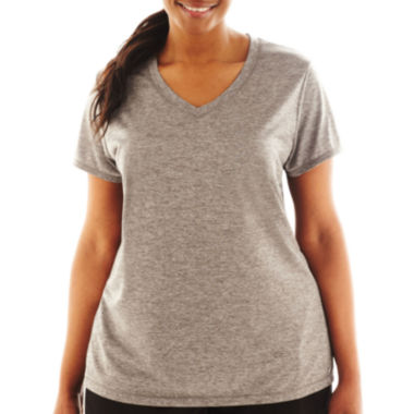 jcpenney.com | Xersion™ Short-Sleeve Performance Tee - Plus