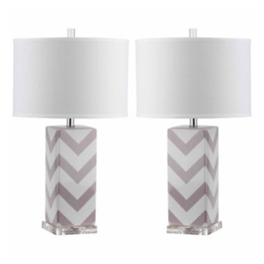 jcpenney.com | Safavieh Ethan Stripe Table Lamp- Set of 2