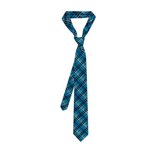 Van Heusen® Tie Right Tonal Plaid Tie