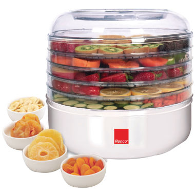 jcpenney.com | Ronco FD1005WHGEN 5-Tray Electric Food Dehydrator